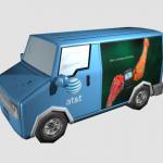 AT&T Textured Van